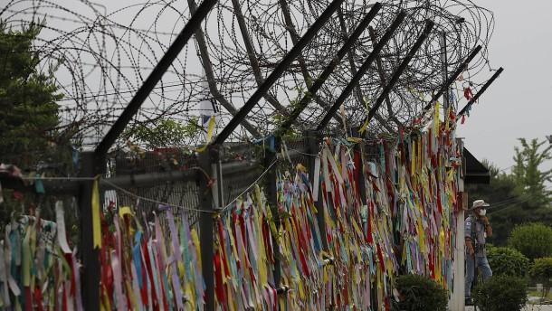 Nordkorea rückt von Militäraktion ab