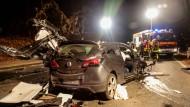 Tote und Verletzte bei Unfall im Taunus