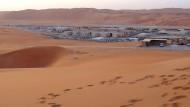 Mitten in der saudischen Wüste: Flüssiggasanlage von Saudi Aramco