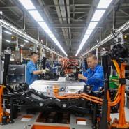 Hoffnung auf Normalität: In China ist die Produktion in den Werken von Volkswagen wieder angelaufen.