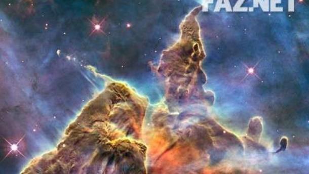 Blick zurück ins Universum