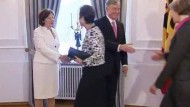 Köhler empfängt Bürger und Politiker