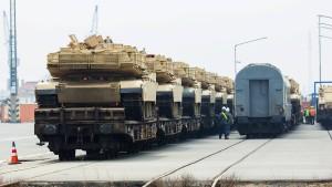 Amerika schickt Panzer durch Deutschland nach Osteuropa