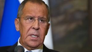 Lawrow: Provokation, um Minsker Abkommen zu torpedieren