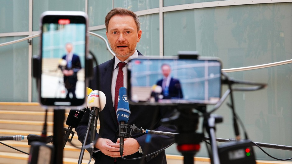FDP-Chef Christian Lindner im Mai 2021