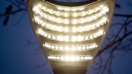 Mit den LED lassen sich viele Formen verwirklichen.