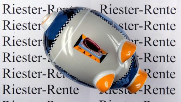 Neue Ideen zur Reform der Riester-Rente