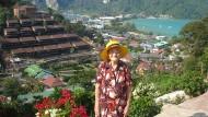 Internet-Star: Der Enkel von Jelena Erkhova postet für sie Reisefotos – wie diese hier aus Thailand.
