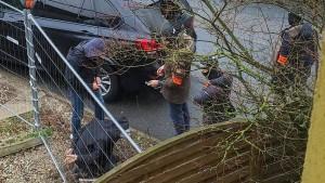 Polizei nimmt Syrer in Mainz fest