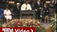 Tausende nehmen Abschied von Coretta Scott King