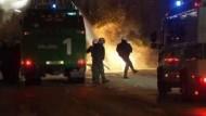 Zwölf Polizisten bei Krawallen in Hamburg verletzt