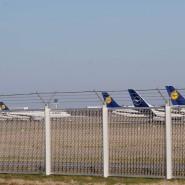 Abgestellte Maschinen: Der Verkehr am Frankfurter Flughafen soll bald erhöht werden.