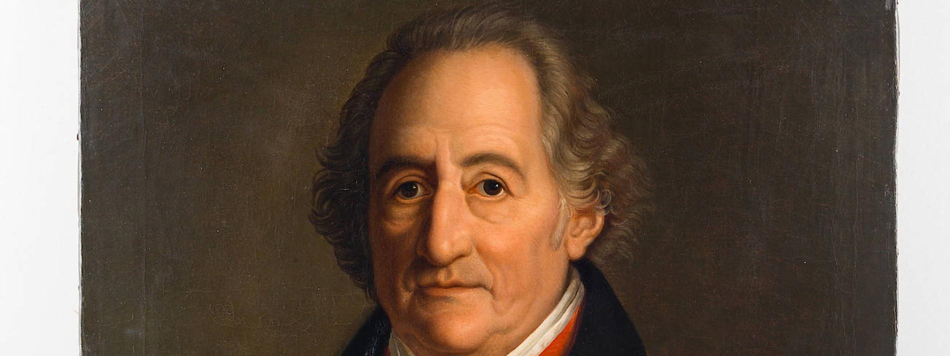 Über ehe goethe die Goethe über