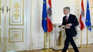 Faymann-Rücktritt lässt SPÖ ratlos zurück