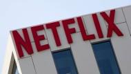 Auf der Erfolgsspur: Netflix-Logo in Hollywood