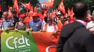 Proteste gegen Rentenreform in Frankreich