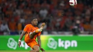 Niederländer Steven Bergwijn im Spiel gegen die Türkei