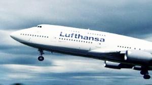 Lufthansa leicht im Aufwind
