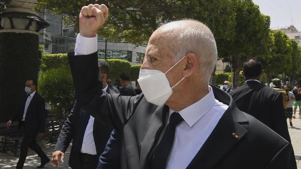 Präsident Saïed behält alle Macht