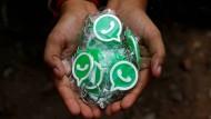 Keine Überprüfung durch eine Behörde: Was passiert mit unseren Whatsapp-Daten? (Symbolbild)