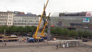 documenta-Obelisk muss weichen