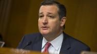 Der erzkonservative Senator Ted Cruz