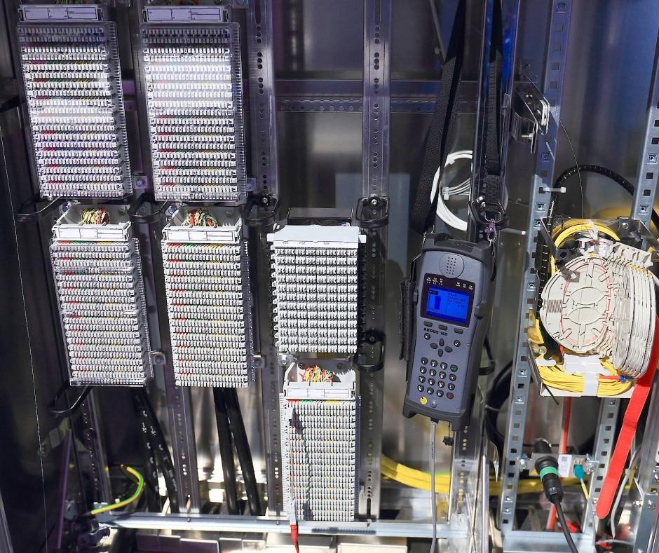 Schaltschrank der Telekom: Deutschland soll flächendeckend schnelles Internet bekommen.