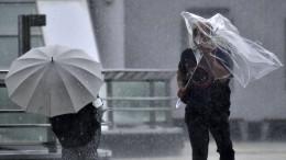 Japans Unwetter fordert Tote