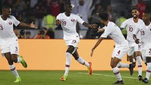 Qatar ist zum ersten Mal Asienmeister