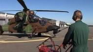 Frankreichs Kampfhubschrauber trainieren für Afghanistan-Einsatz