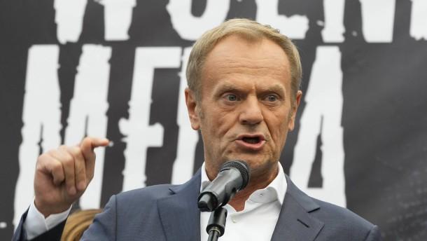 Tusk ruft zu Protest in Warschau auf