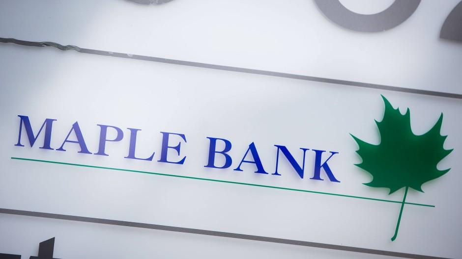 Die Maple Bank musste in Deutschland im Jahr 2016 Insolvenz anmelden.