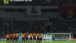Afrika-Cup mit Schweigeminute eröffnet