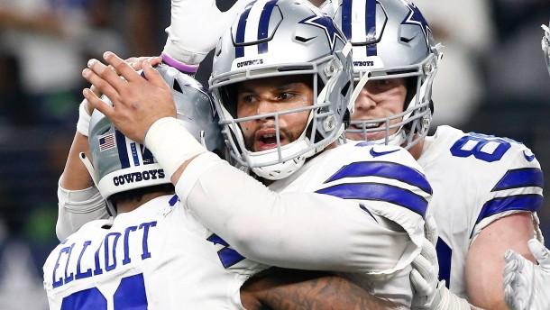 Dallas und Indianapolis erreichen Viertelfinale