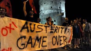 Sparprogramm ist nicht schuld an Griechenlands Problemen