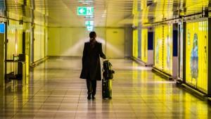 Passagierzahlen am Frankfurter Flughafen brechen weiter ein