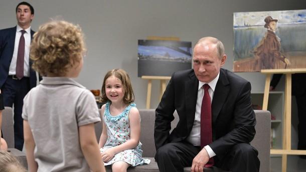 Wie cool war Putin als Teenager?