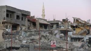 Krieg in den Kurdengebieten