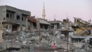 Vom Konflikt gekennzeichnet: Die Stadt Nusaybin im türkischen Kurdengebiet liegt in Trümmern.