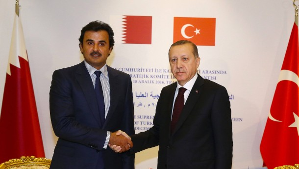 Gute Geschäfte mit dem Emir