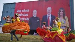 Ein Spektakel, wie es Trump und Modi lieben