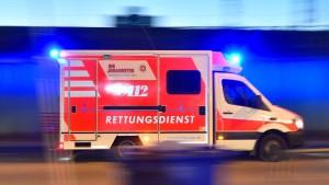 Unfall mit Rettungswagen – Räumungen wegen A 49