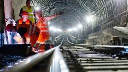 Frankfurter S-Bahn-Tunnel wieder sechs Wochen dicht
