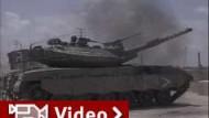 Heftige Gefechte im Gazastreifen