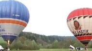 Ballontrekking im Allgäu