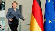 """Erteilte die """"Ermächtigung"""", dass im Fall Böhmermann staatsanwaltliche Ermittlungen aufgenommen werden können: Angela Merkel"""