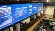 Die Investoren bleiben skeptisch: Die Börse in Istanbul