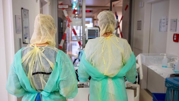 Bald mehr als 1000 Infizierte in Frankfurt