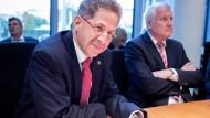 Hans-Georg Maaßen (l.) ist künftig Staatssekretär in Horst Seehofers Innenministerium.