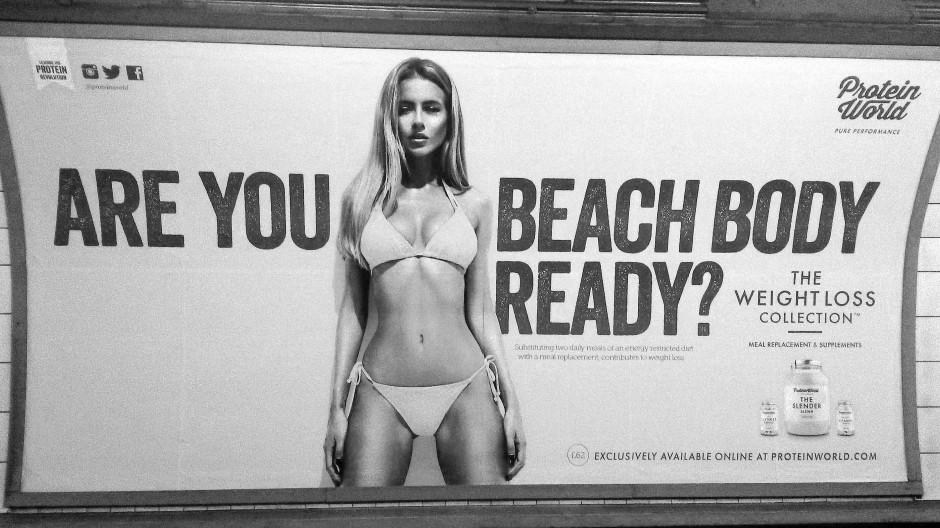 Bist du bereit für den Beach Body? Der Druck nach einem normierten Körper lauert überall (Archivbild).